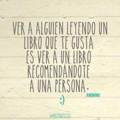 Acerca de la recomendación de libros. Por Gabriela Mariel Arias.