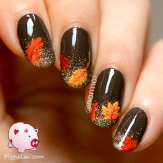 55 saisonale Herbst Nail Art Designs 55 saisonale Herbst Nail Art Designs The post 55 saisonale Herbst Nail Art Designs & Nagel Kunst appeared first on Fall nails . Nail Art Grey, Nail Art Cute, Trendy Nail Art, Thanksgiving Nail Designs, Thanksgiving Nails, Thanksgiving Ideas, Fall Nail Art Designs, Beautiful Nail Designs, Fall Designs