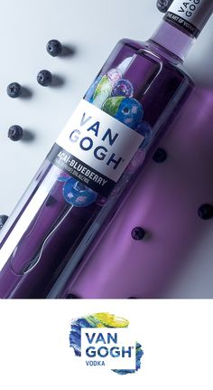 Van Gogh Açaí-Blueberry Vodka is an exotic combination of açaí berry and blueberry, with just a hint of raspberry and almond. Light with a tropical berry taste, this premium vodka can be enjoyed on the rocks or mixed up in your favorite vodka cocktail.
