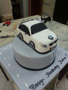 BMW cake