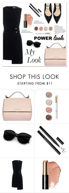"""""""What's your power look?"""" by ladydzsen ❤ liked on Polyvore featuring Givenchy, Terre Mère, Finders Keepers, Bobbi Brown Cosmetics and MyPowerLook"""