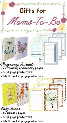 Pregnancy Journal and Scrapbook Album Pregnancy Books, Pregnancy Journal, Baby Journal, Gifts For Pregnant Friend, Pregnant Sisters, Unique Baby Gifts, Photo Album Scrapbooking, Baby Memories, Boyfriend Gifts