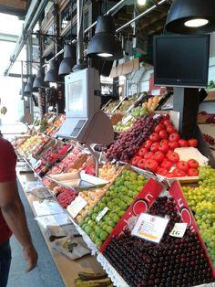 Mercado san miguel frutas