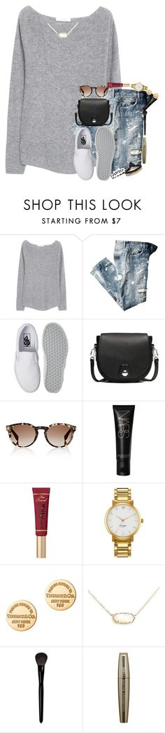 """""""i can't help it that im cooler than u"""" by kate-elizabethh ❤ liked on Polyvore featuring MANGO, Vans, rag & bone, Fendi, NARS Cosmetics, Too Faced Cosmetics, Kate Spade, Tiffany & Co., Kendra Scott and Yves Saint Laurent"""