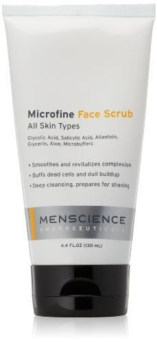 MenScience Androceuticals Microfine Face Scrub 44 fl oz * Check this awesome product by going to the link at the image.Note:It is affiliate link to Amazon.