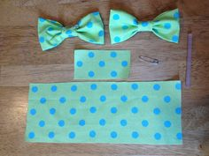 Mustache Bash Baby Shower Bow-ties easy & this is all you need!