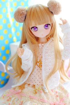 Ideas for doll bjd dreams Anime Girl Cute, Anime Art Girl, Anime Dolls, Blythe Dolls, Pretty Dolls, Beautiful Dolls, Doll Tattoo, Kawaii Doll, Anime Figurines