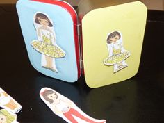DIY Mini Activity and Games Tin From an Altoids Tin- Paper Dolls and More