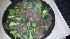 Homemade beef n broccoli #chefjanetcook