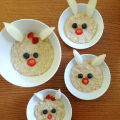 mommy and me bunny oatmeal