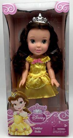 My First Disney Princess Toddler Belle Doll 13 inch New in Box #JAKKSPacific