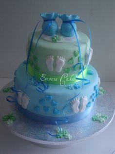 Baby shower cake6 (SP078)