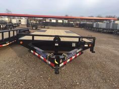 2017 Load Trail 102 X 20 Deck Over Bumper Pull Deck Over Trailer, Flatbed Trailer, Utility Trailer, Missouri, Road Trip, Trucks, Adventure, City, Photography