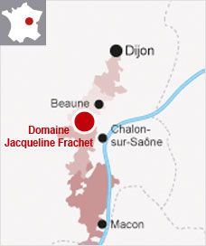 16,95€ la bouteille - BEAUNE - Domaine Jacqueline Frachet - 2009. Beaune est une des plus vastes AOC de la région, c'est également la capitale des vins de Bourgogne, et pourtant, c'est l'une des appellations les moins connues. Réparons immédiatement cette injustice avec cette magnifique cuvée de ce domaine familial. Le cépage est comme il se doit pour les grands vins de Bourgogne : le Pinot Noir.