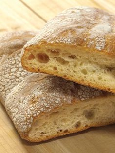 ciabatta bread recip