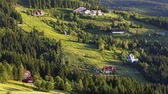 Czech Republic - Mountain cabins in the Krkonoše Mountains