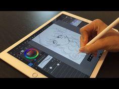 Premiers tests d'illustration - iPad Pro & Apple Pencil - app MediBan. Ipad Pro Apple, Apple Pro, Apple Pencil, Best Pencil, Dog Treat Recipes, Healthy Dog Treats, Pencil App, Drawing Tablet, Digital Painting Tutorials