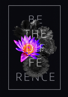 Difference  #poster #flowers #be