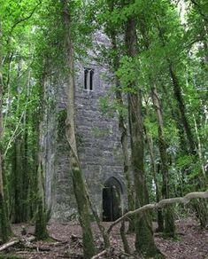 Guinness Tower at Ashford Castle, Cong, County Mayo. Ireland's hidden gems nominated by our Facebook friends at Ireland Calling.
