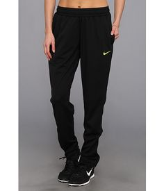 Nike Soccer Knit Pant Black/Volt - Zappos.com Free Shipping BOTH Ways