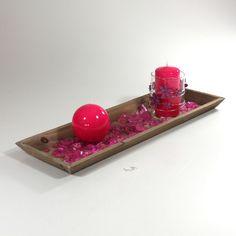Valentinsdekoration i hot pink  #Valentinsdag #Valentinsdekoration