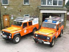 MOUNTAIN RESCUE AMBULANCES