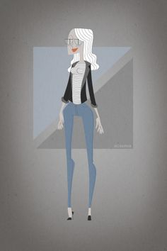 fashion addiction .2 by Valeria Pavin, via Behance