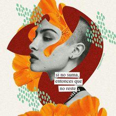 "gordita amarillista on Instagram: ""que la meta de vida sea tener gente alrededor que solo sume sume y sume"" Collage Illustration, Collage Art, Collages, Collage Design, Positive Quotes, Mood Quotes, Life Quotes, Great Quotes, Inspirational Quotes"