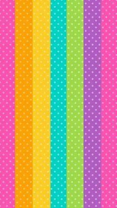 Cellphone Wallpaper, Mobile Wallpaper, Wallpaper Backgrounds, Apple Wallpaper, Rainbow Wallpaper, Colorful Wallpaper, Pink Wallpaper, Party Background, Pattern Wallpaper