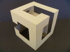 Planar Implied Cube Study Model 7 by Samongi.deviantart.com on @DeviantArt