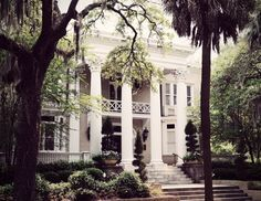 Beautiful home in Savannah, Georgia.