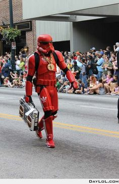 Stormtrooper 'beats' it