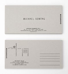 Identity for Michael Sontag  interesting address info