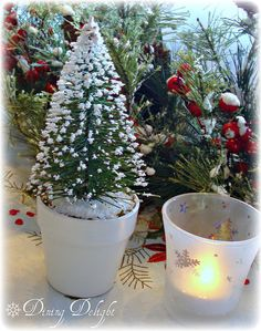 Dining Delight: A Merry Little Christmas Tablescape