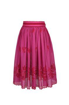 Lena Hoschek: Spring/Summer 2013 Collection--Desperado Skirt Pink