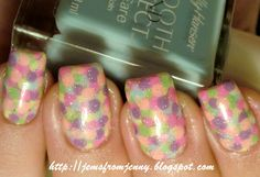 Jems From Jenny: Pastel Easter Weeked Mani