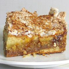 Serbian Apricot Torte Recipe - Recipe for Serbian Apricot Torte or Torta Praska Food Cakes, Cheesecakes, Eastern European Recipes, Cake Recipes, Dessert Recipes, Torte Recipe, Recipe Recipe, Kolaci I Torte, Croatian Recipes