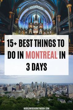 Explore the best things to do in Montreal in 3 days in the perfect Montreal vacation itinerary including best Montreal restaurants, when to visit Montreal, where to stay in Montreal, and more! Best Things to do in Montreal in 3 Days Montreal Vacation, Montreal Travel, Vacation Days, North America Destinations, Canada Destinations, Vacation Destinations, Vacations, Canada Travel, Travel Usa