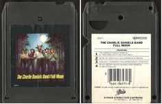 Daniels, Charlie (Band) / Full Moon (1980) / Epic FEA-36571 (8-Track Tape), $4.00