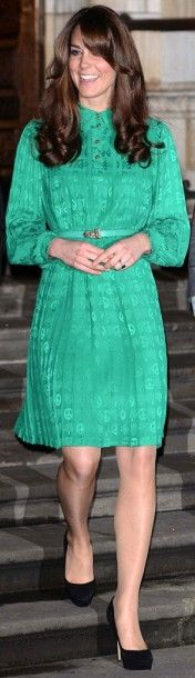 27 November 2012 - Kate opens the Treasures Gallery at the Natural History Museum in London