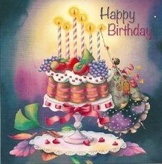 Risultati immagini per nina chen Happy Birthday Wishes Cake, Birthday Wishes Messages, Happy Birthday Pictures, Happy Birthday Funny, Birthday Msg, Birthday Cheers, Birthday Cake, Animated Birthday Greetings, Birthday Greeting Cards