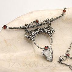 The Niobe Necklace by Iza Malczyk by IzaMalczyk on Etsy, $329.00