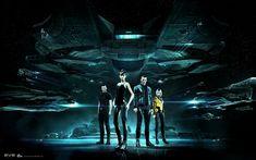Gallente Crew (ArtStation - Eve Online - Key Art, Andrei Cristea)