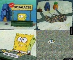 Memy po polsku Bez glutenu #bezglutenu#dopalacze#spangbobe#mem#funny#memypopolsku