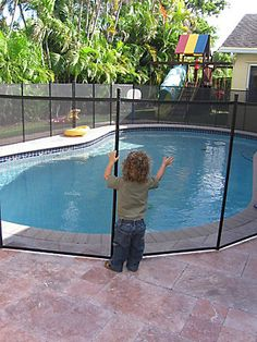 Keep your pool area secure with this innovative and attractive Safety Fence. When properly installed this Safety Fence will eliminate the type of tragedies that occur all too frequently in the summer months. This fence is easily self-installed.