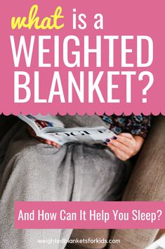 What is a weighted blanket and how can it help you sleep? Find out here with these 10 facts about weighted blankets & how they can benefits kids & adults with autism, insomnia & ADHD...
