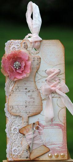 Killam Creative: TBS DT: DIY Crinoline Flower