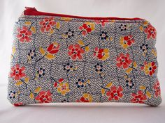 Cute little makeup bag by Nightingale & Dolittle