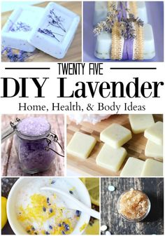 25 DIY Lavender Essential Oil Projects