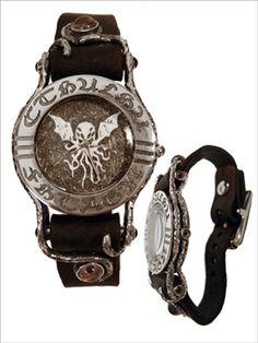 Cthulu wrist watch